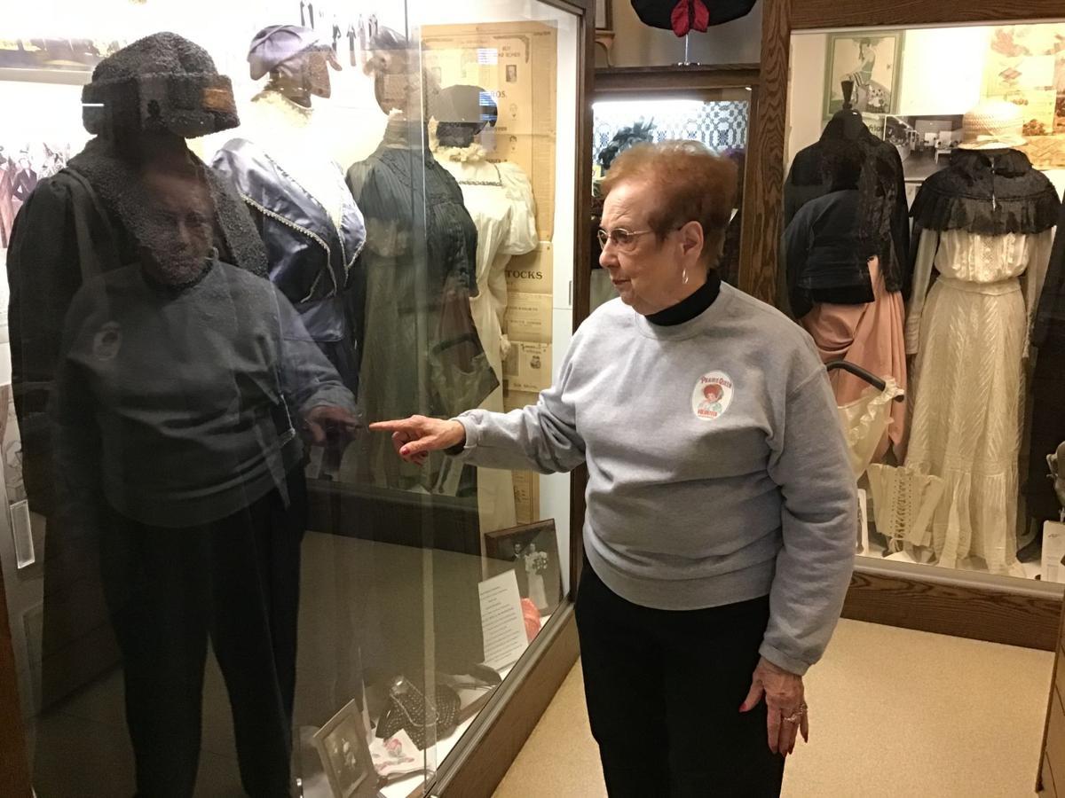 Millie Vos at Sheldon Prairie Museum