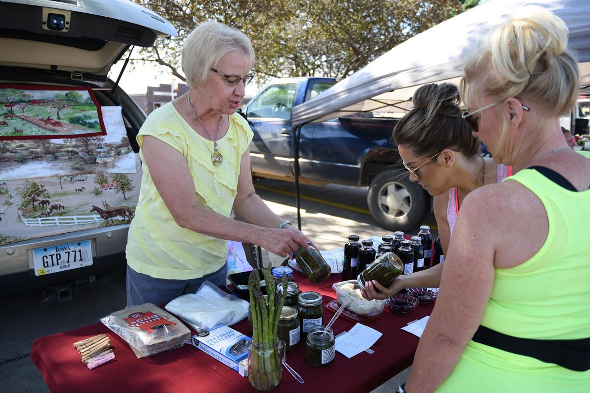 Wassink sells homemade syrup, relish