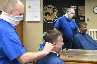 Barbers and Salons Reopen