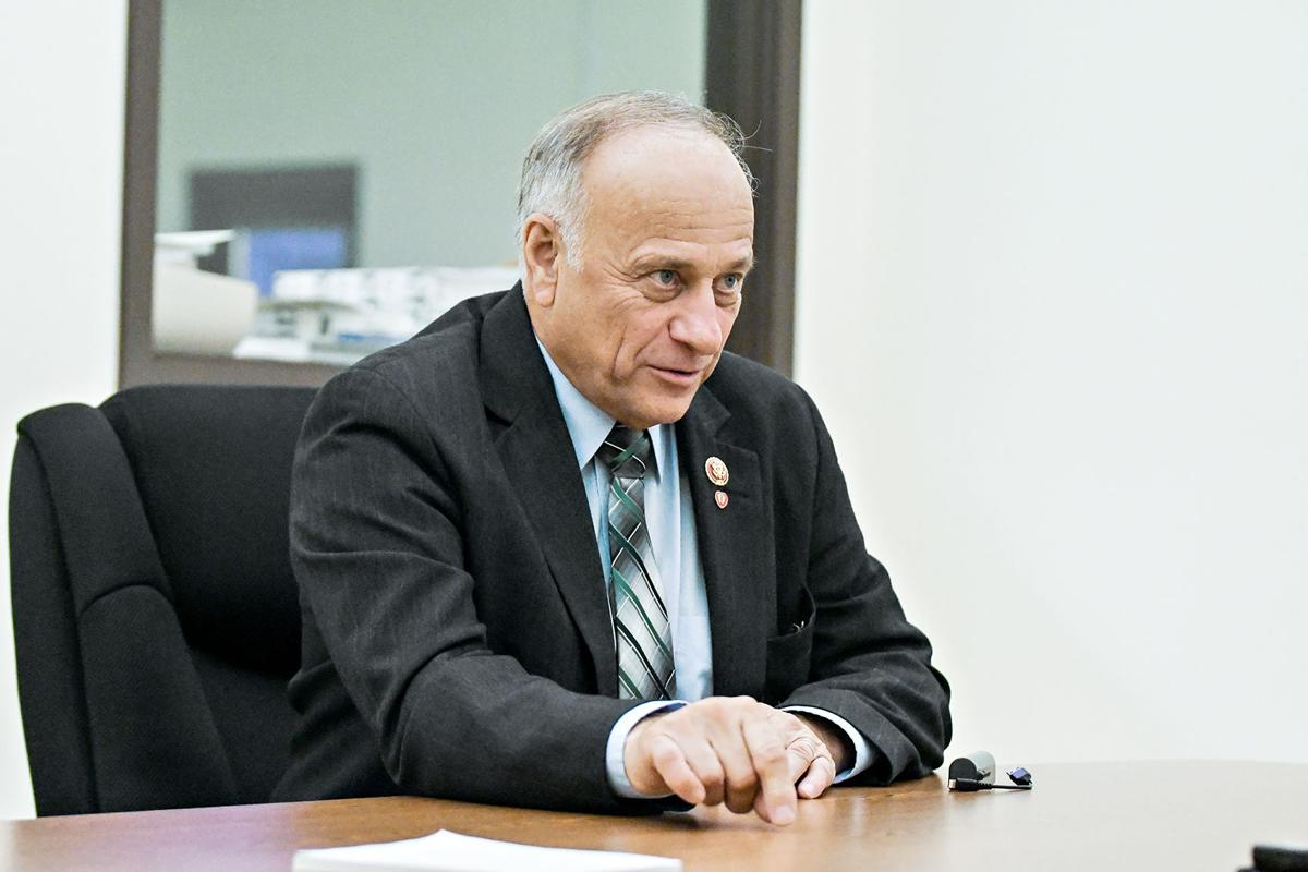 Steve King comes to Sioux Center