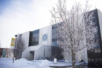 Dordt University during winter