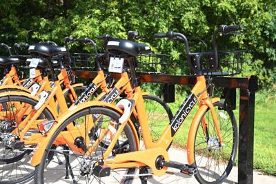 Rock Valley ride-share bikes