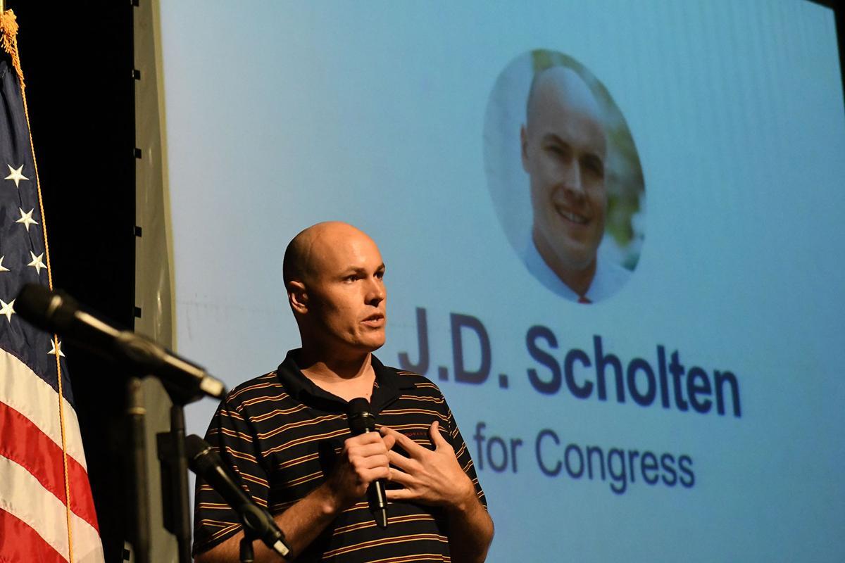 J.D. Scholten at Northwestern College