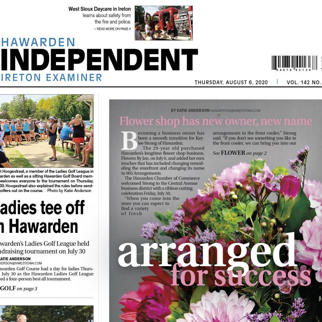 Hawarden Independent/Ireton Examiner Aug. 6, 2020