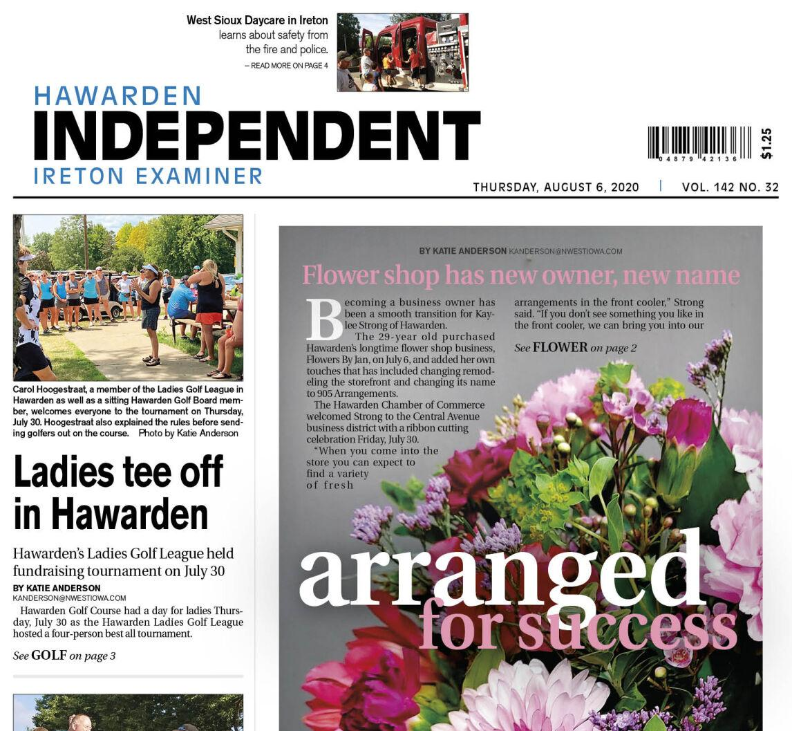 Hawarden Independent/Ireton Examiner Aug. 6, 2020