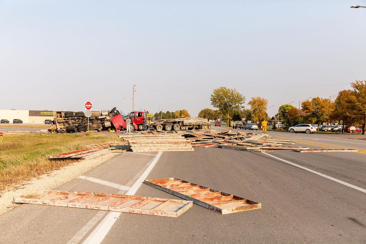 Sanborn crash site on Highway 18