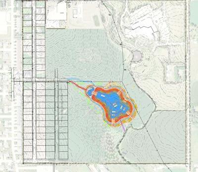 New Sioux Center detention pond plans