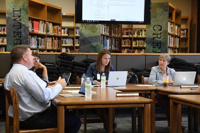 August Sheldon school board meeting
