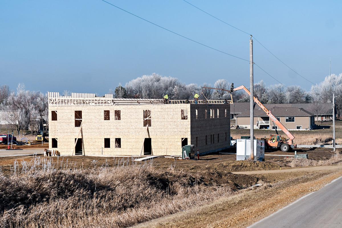 Ridge Creek apartment construction