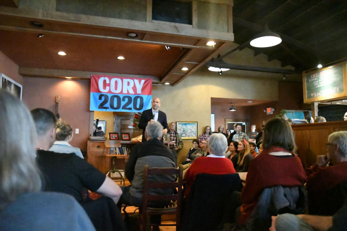 Cory Booker in Sioux Center