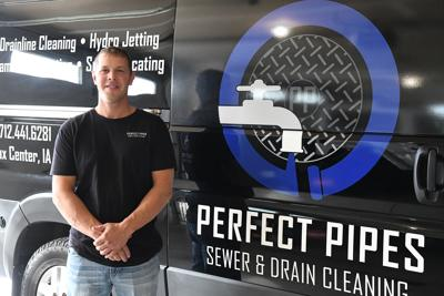 Sioux Center man works to unclog problems