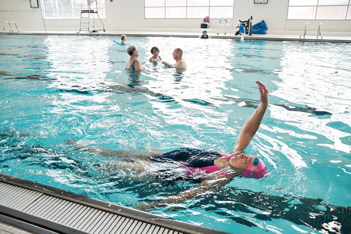 Senior Swim Days at All Seasons Center