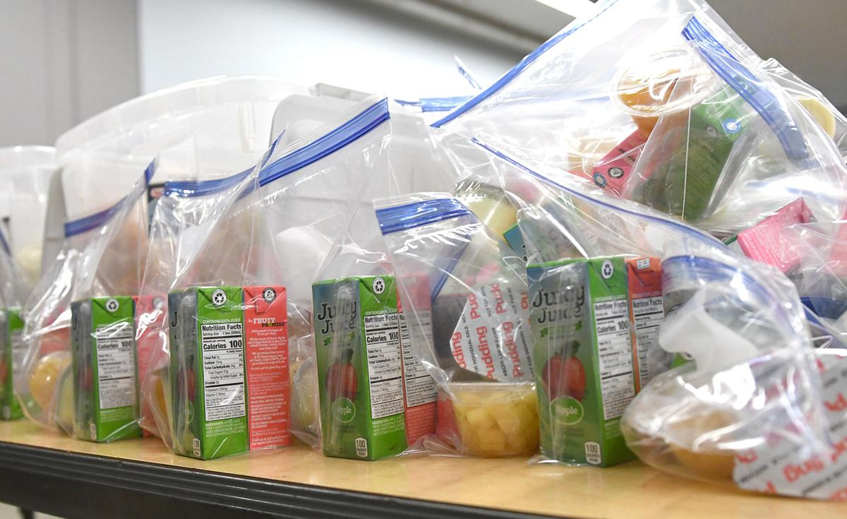 Sioux Center Sack Pack Program lunches made