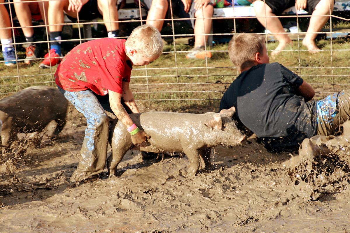 Greased Pig Contest remains popular