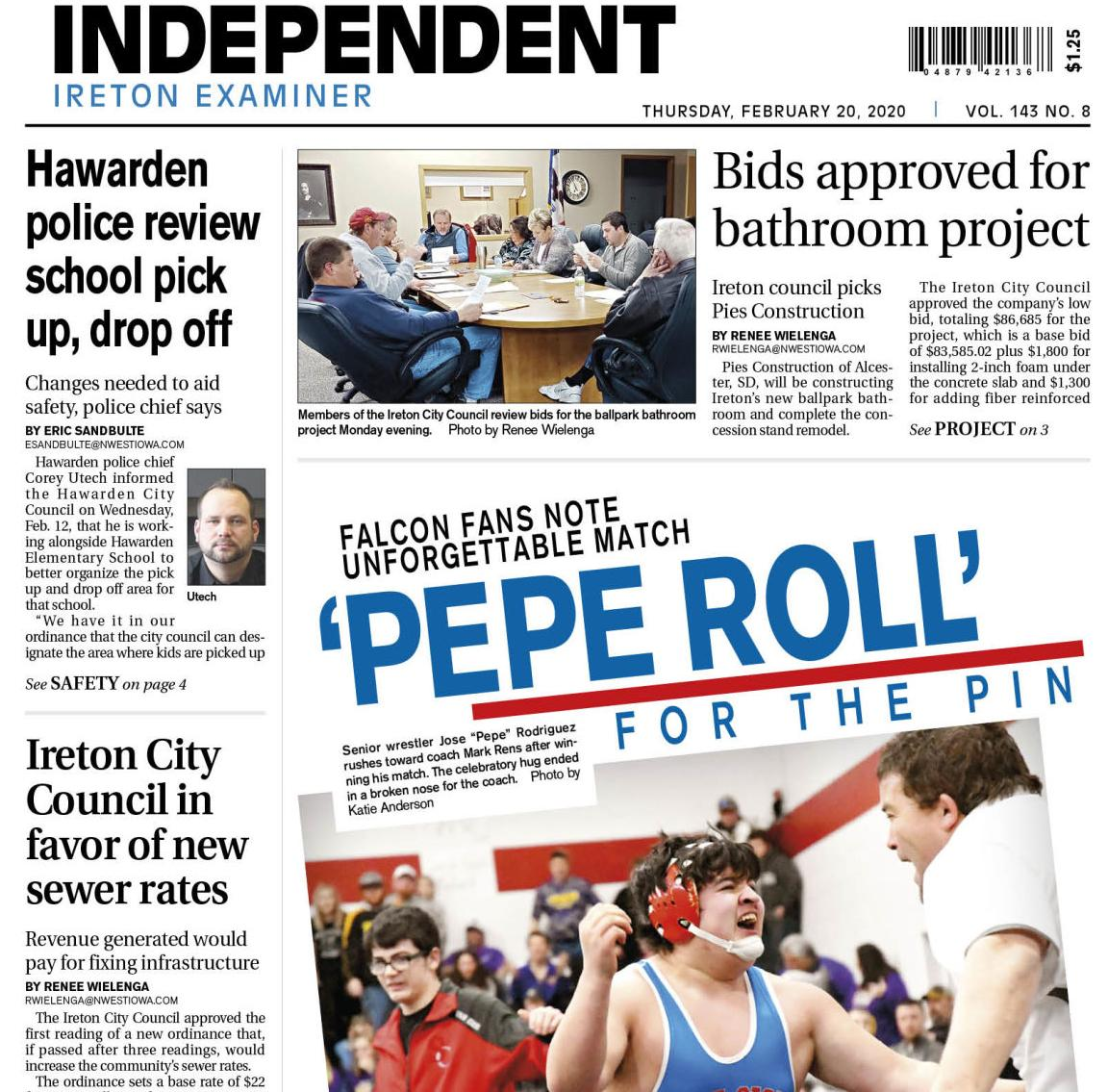 Hawarden Independent/Ireton Examiner Feb. 20, 2020