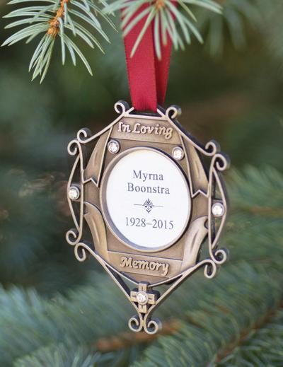 Hospice Tree of Remembrance ornament
