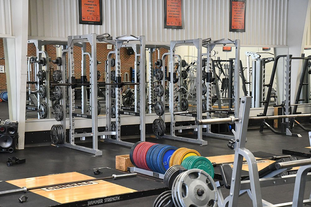 Sibley-Ocheyedan weight room