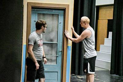 Summer theatre stage prep
