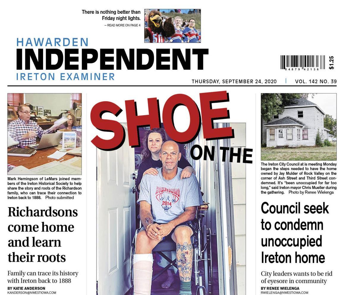 Hawarden Independent/Ireton Examiner Sept. 24, 2020