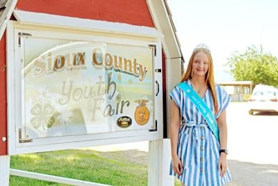 Aimee Hulstein, Sioux County Youth Fair Queen