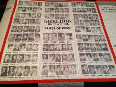 Orab quilt of Class of 1969