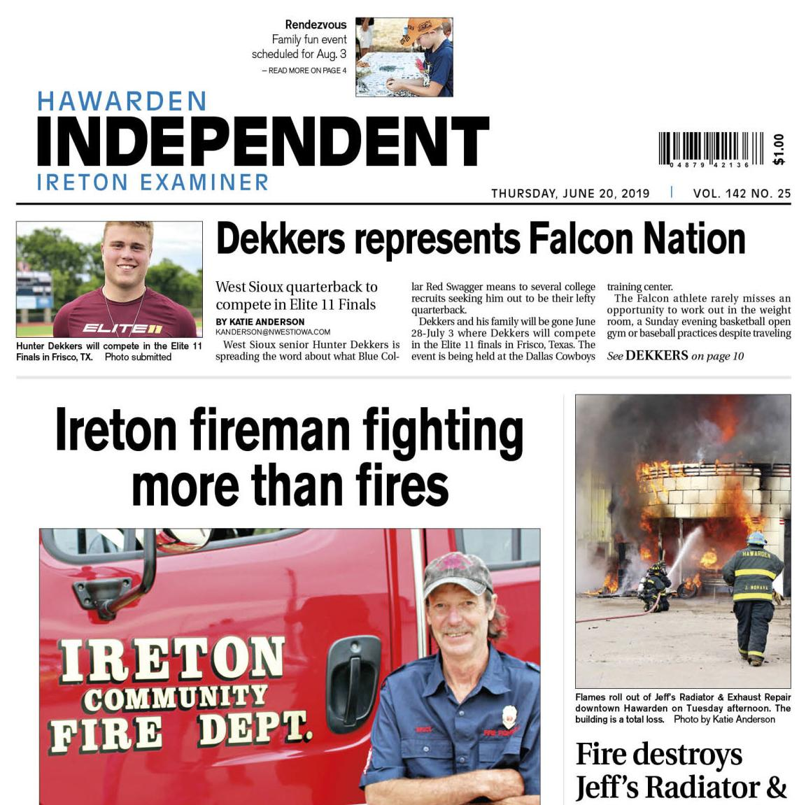 Hawarden Independent/Ireton Examiner June 20, 2019