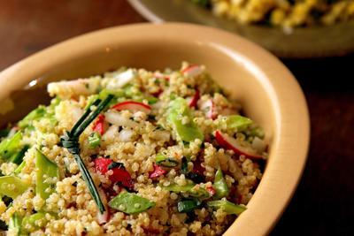 Quinoa Salad with Snap Peas
