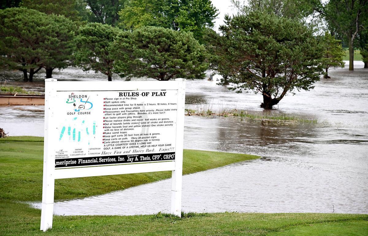 Flooding at Sheldon Golf & Country Club