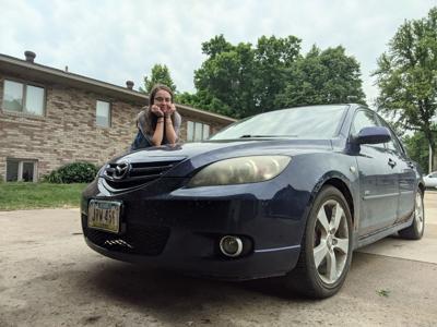 Mazda repaired