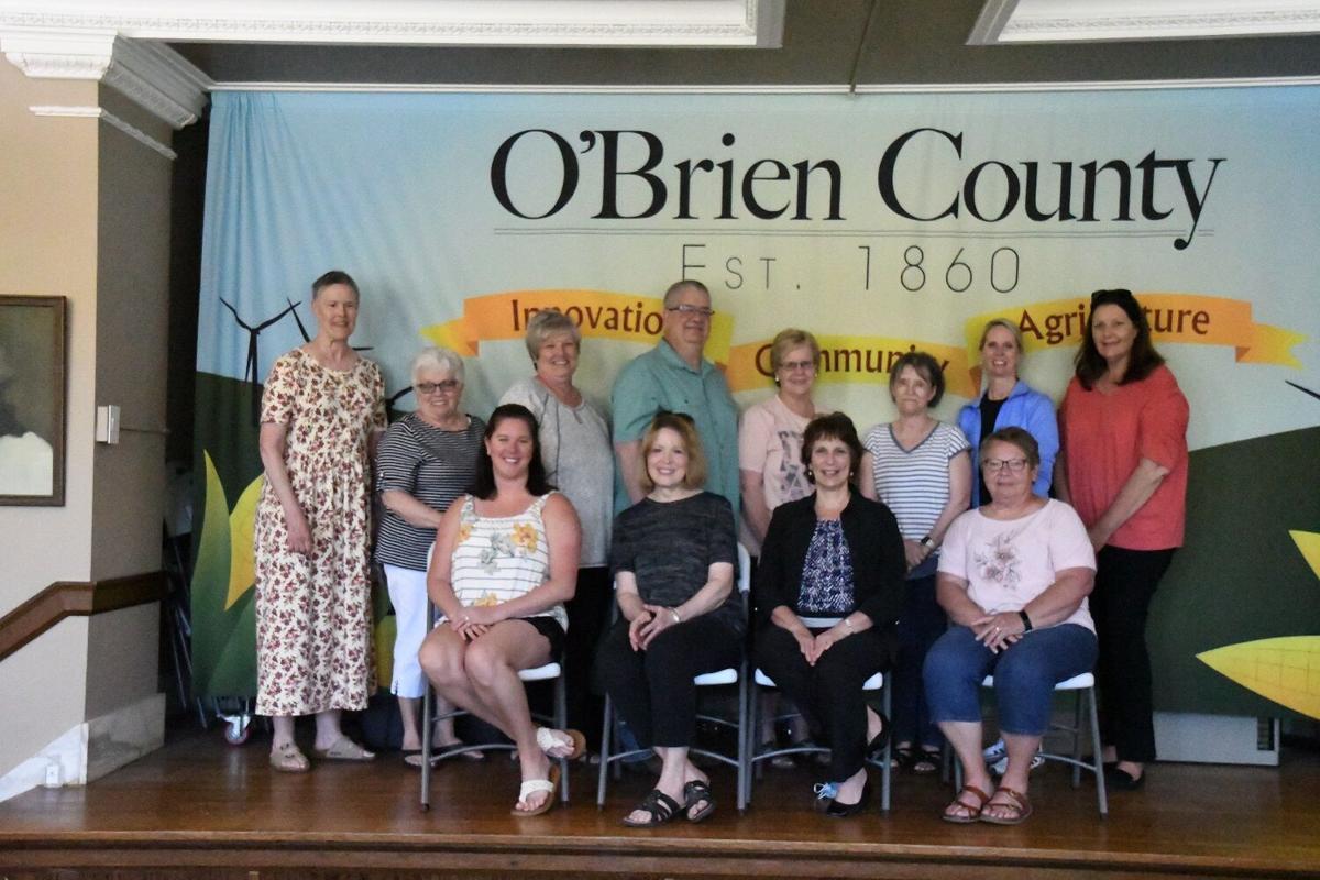 O'Brien County vaccine volunteers honored