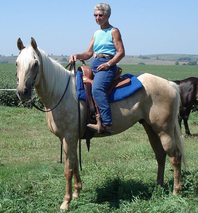 Zelda rides horse