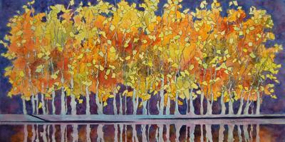 'Aspen Grove' by Judy Thompson