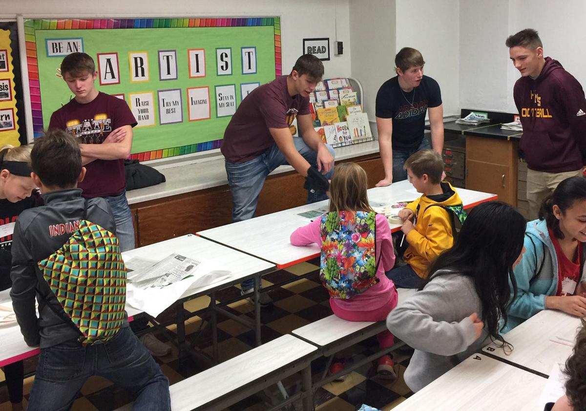 H-M-S students teach at STEM Festival