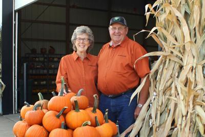 Grandma and Grandpa Pumpkin