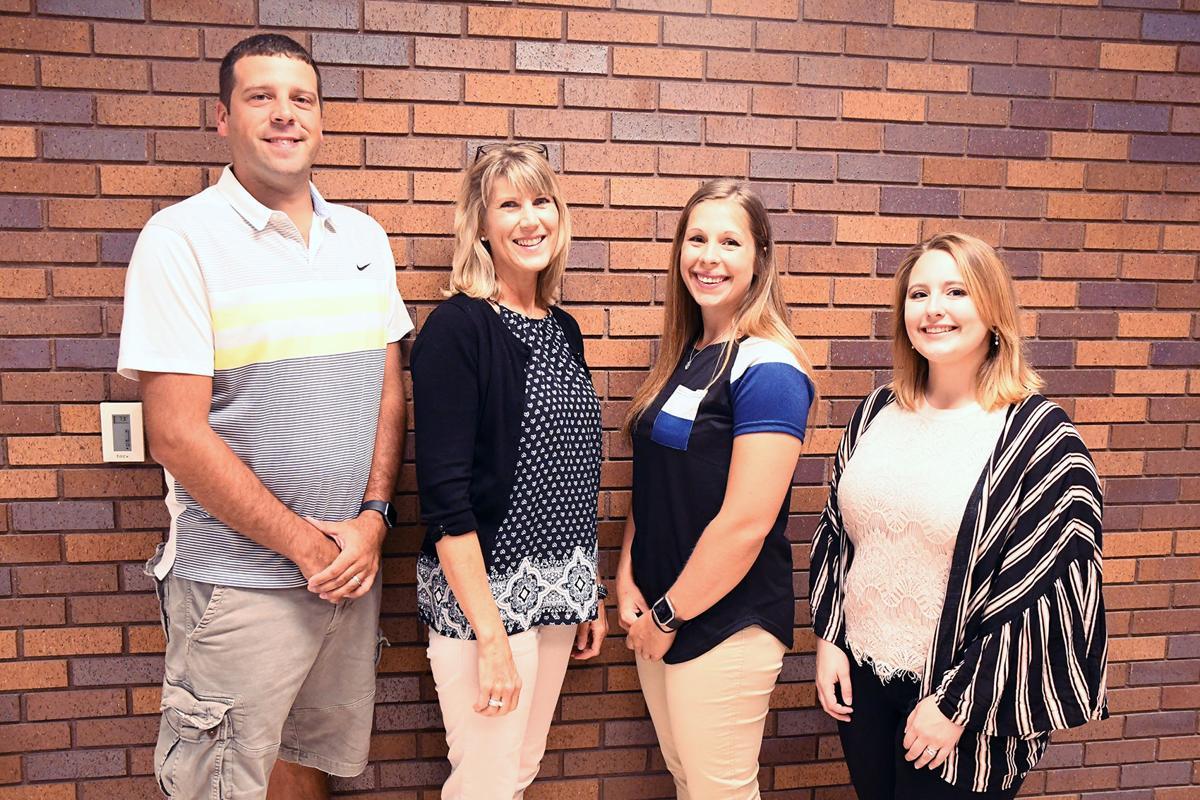New Sioux Center Middle School teachers