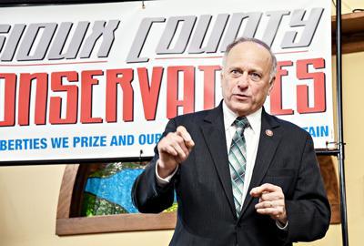 Steve King speaks at conservative event
