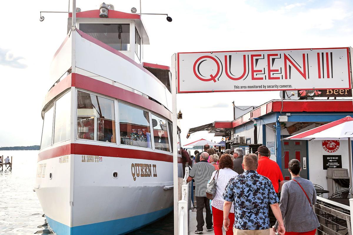 Queen II at dock