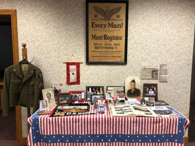 Veterans Day tribute at Peoples Bank