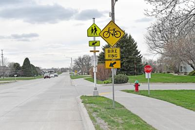 Recreation trail at 20th Street Southwest, Sioux Center