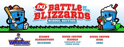 Sioux Center Dairy Queen Blizzard battles