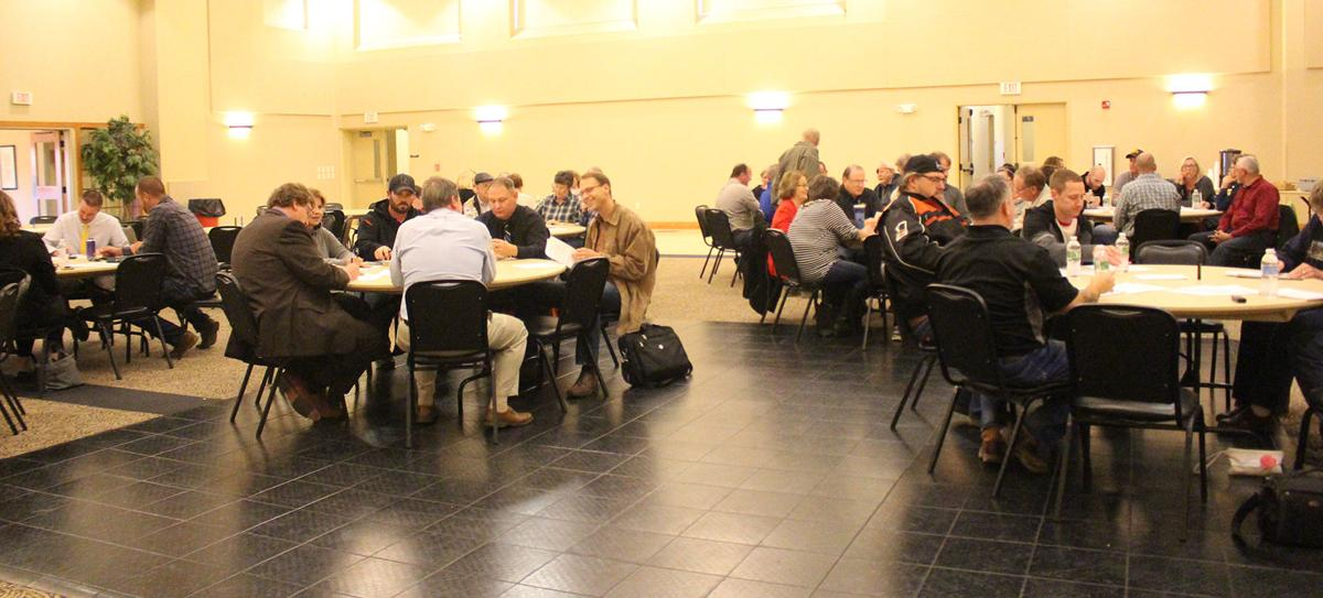 Community visioning draws crowd