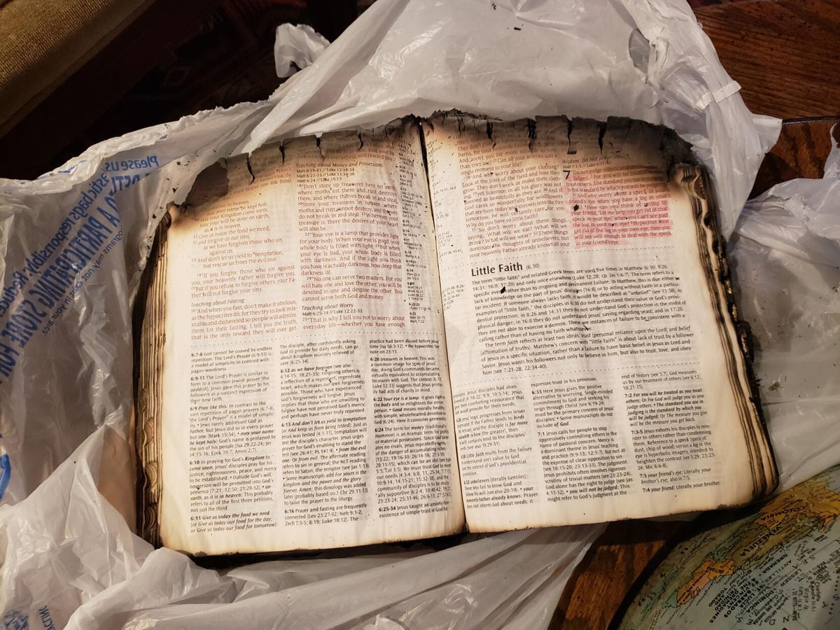Taryn and Josie Slade's Burnt Bible