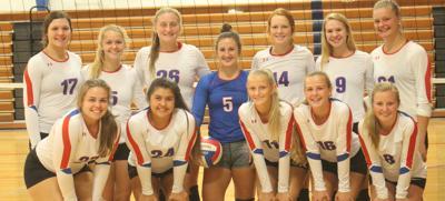 Falcon volleyball team