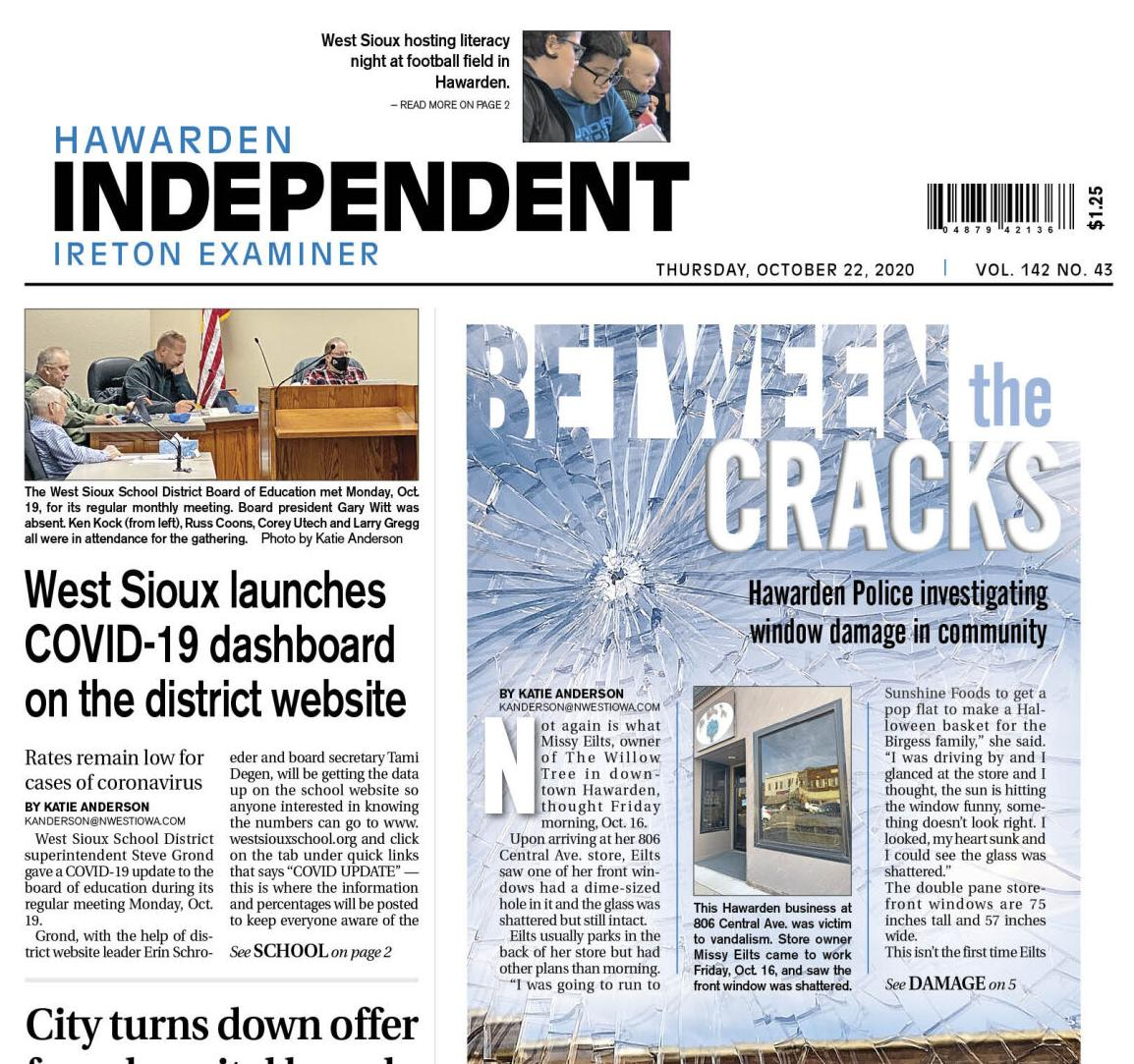 Hawarden Independent/Ireton Examiner Oct. 22, 2020