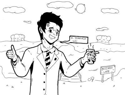 Water comic