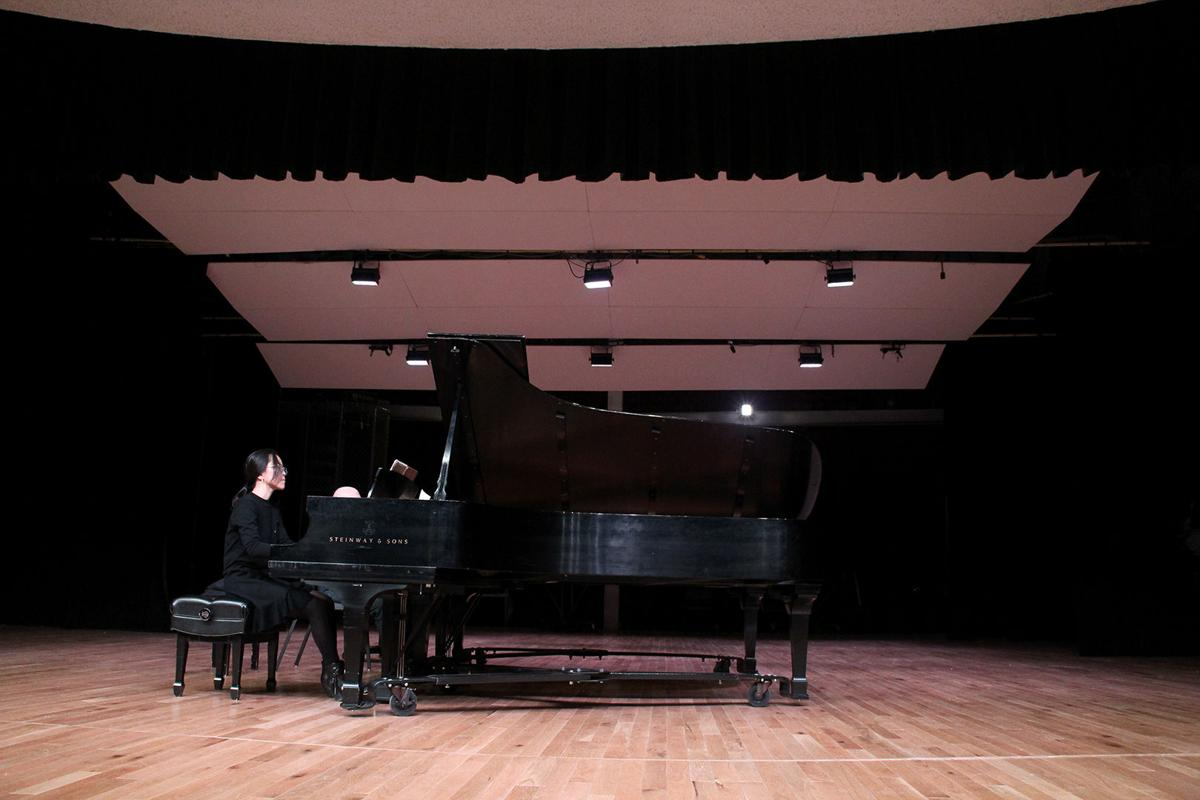 Pianist strikes chord with others