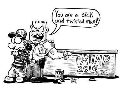 Our View Cartoon