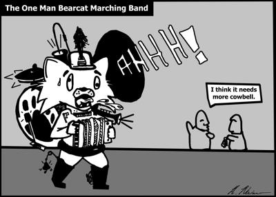 The One Man Bearcat Marching Band