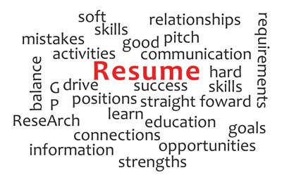 Building a Resume