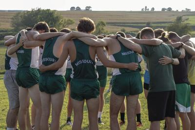 Northwest cross country ahead of Woody Greeno Invitational